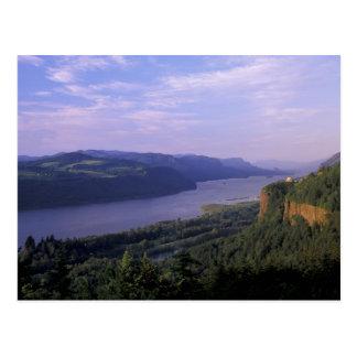 USA, Oregon, Columbia River Gorge National 4 Postcard