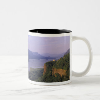 USA, Oregon, Columbia River Gorge National 4 Two-Tone Coffee Mug