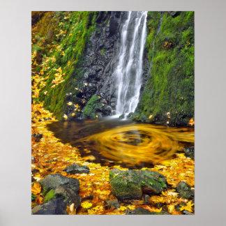 USA, Oregon, Columbia River Gorge National Poster