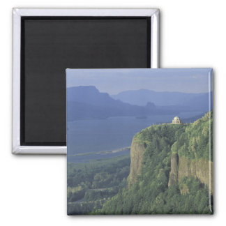 USA, Oregon, Columbia River Gorge NSA. View of 2 Inch Square Magnet