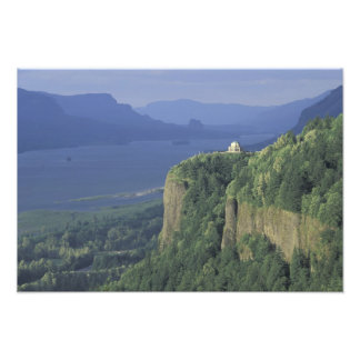 USA, Oregon, Columbia River Gorge NSA. View of Photo Print