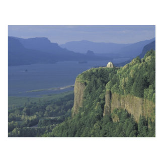 USA, Oregon, Columbia River Gorge NSA. View of Postcard