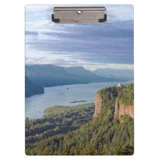 USA, Oregon, Columbia River Gorge, Vista House Clipboard