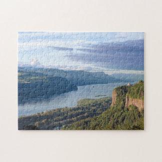 USA, Oregon, Columbia River Gorge, Vista House Puzzles