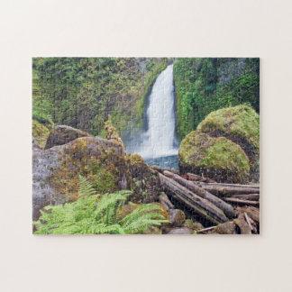 USA, Oregon, Columbia River Gorge, Wahclella Jigsaw Puzzles