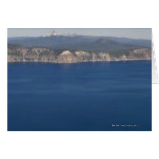 USA, Oregon, Crater Lake Card