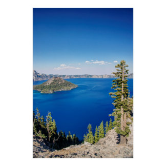 USA, Oregon, Crater Lake National Park 2 Poster