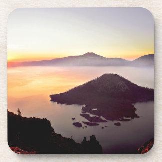 USA, Oregon, Crater Lake National Park 3 Beverage Coaster