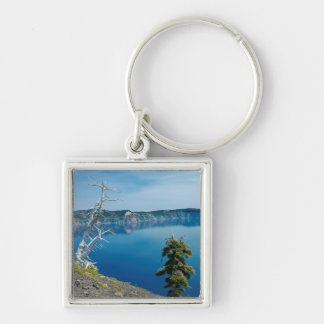USA, Oregon, Crater Lake National Park 4 Keychain