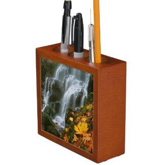 USA, Oregon, Fairy Falls, Columbia River Gorge Pencil/Pen Holder
