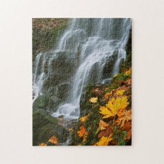 USA, Oregon, Fairy Falls, Columbia River Gorge Puzzle