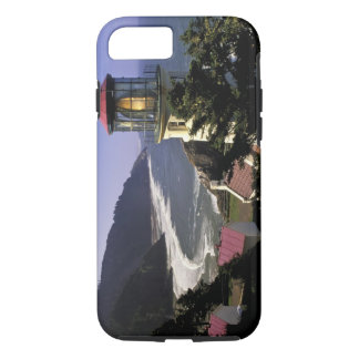 USA, Oregon, Florence. Heceta Head Lighthouse iPhone 8/7 Case