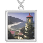 USA, Oregon, Florence. Heceta Head Lighthouse Pendants