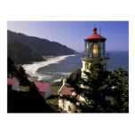 USA, Oregon, Florence. Heceta Head Lighthouse Post Cards