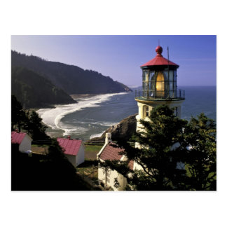 USA, Oregon, Florence. Heceta Head Lighthouse Postcard