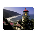 USA, Oregon, Florence. Heceta Head Lighthouse Magnet