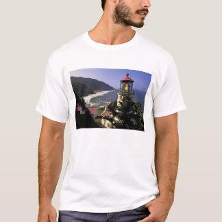 USA, Oregon, Florence. Heceta Head Lighthouse T-Shirt