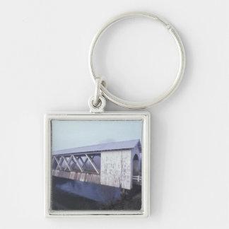 USA, Oregon. Gilkey covered bridge spans Key Chain
