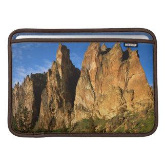 USA, Oregon, Granite Cliffs At Smith Rock State MacBook Sleeves
