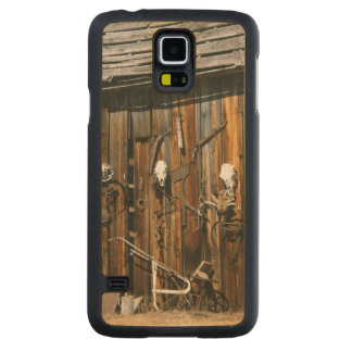 USA, Oregon, Harney County. Old livery stable Carved Maple Galaxy S5 Slim Case