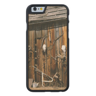 USA, Oregon, Harney County. Old livery stable Carved Maple iPhone 6 Slim Case