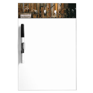 USA, Oregon, Harney County. Old livery stable Dry-Erase Whiteboard