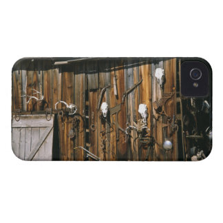 USA, Oregon, Harney County. Old livery stable iPhone 4 Cases