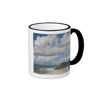 USA, Oregon, Heceta Head Lighthouse Ringer Coffee Mug