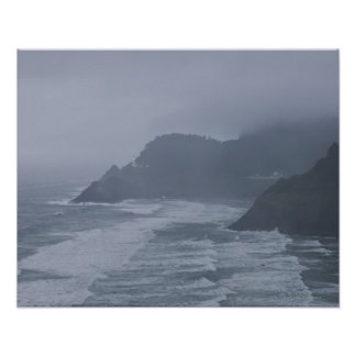USA, Oregon, Heceta Head Poster