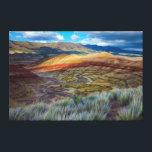 "USA, Oregon. Landscape Of The Painted Hills Canvas Print<br><div class=""desc"">Jaynes Gallery / DanitaDelimont.com USA,  North America,  Oregon</div>"