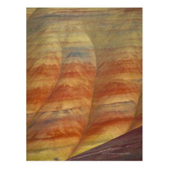 USA, Oregon, Mitchell, Painted Hills, Close-up Postcard