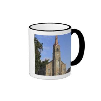 USA, Oregon, Mt. Angel, St. Mary's Ringer Coffee Mug