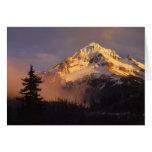 USA, Oregon, Mt. Hood National Forest. Rolling Greeting Card