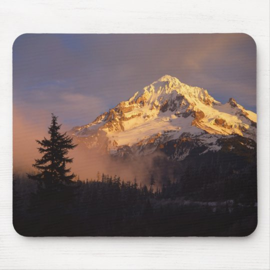 USA, Oregon, Mt. Hood National Forest. Rolling Mouse Pad