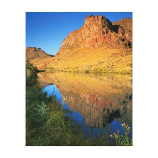 USA, Oregon, Owyhee River Canyon Canvas Print