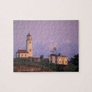 USA, Oregon, Port Orford Region, Cape Blanco Puzzle