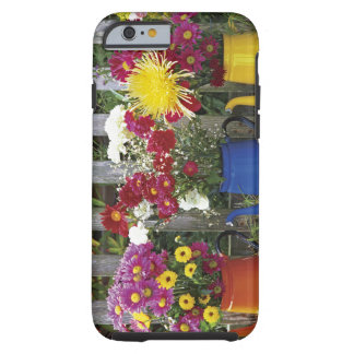USA, Oregon, Portland. Antique enamelware Tough iPhone 6 Case