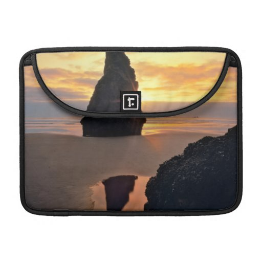 USA, Oregon. Rock Formation At Sunset Sleeve For MacBook Pro