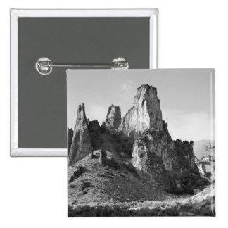 USA, Oregon, Rock Formation Pinback Button