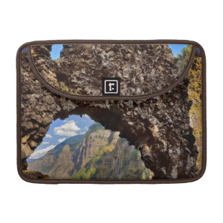 USA, Oregon. Rock Of Ages Arch In Columbia River Sleeve For MacBook Pro