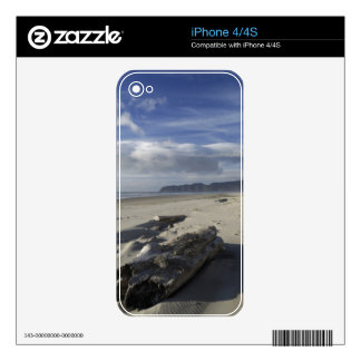 USA, Oregon, Sand Dunes and Ocean, Pacific City 2 Decals For iPhone 4S