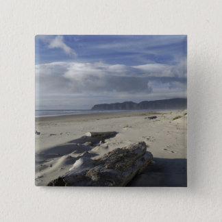USA, Oregon, Sand Dunes and Ocean, Pacific City 2 Pinback Button