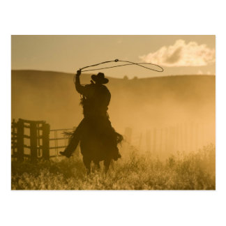 USA, Oregon, Seneca, Ponderosa Ranch. 2 Postcard