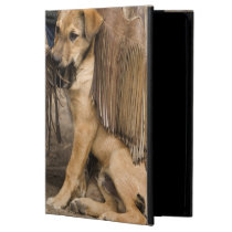 USA, Oregon, Seneca, Ponderosa Ranch. A puppy Cover For iPad Air