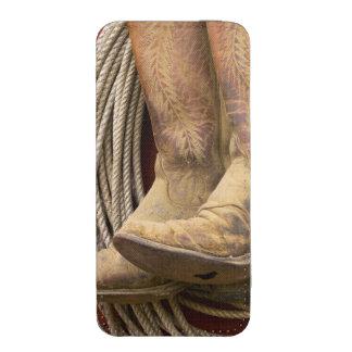 USA, Oregon, Seneca, Ponderosa Ranch. Close-up iPhone 5 Pouch