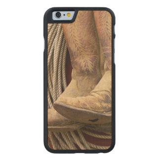 USA, Oregon, Seneca, Ponderosa Ranch. Close-up Carved® Maple iPhone 6 Slim Case