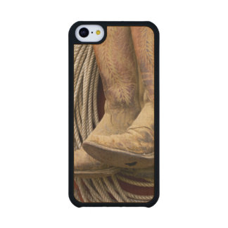 USA, Oregon, Seneca, Ponderosa Ranch. Close-up Carved® Maple iPhone 5C Case