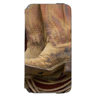USA, Oregon, Seneca, Ponderosa Ranch. Close-up Incipio Watson™ iPhone 6 Wallet Case