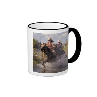 USA Oregon Seneca Ponderosa Ranch Cowboy 2 Mug