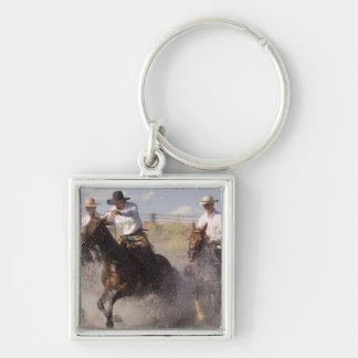 USA, Oregon, Seneca, Ponderosa Ranch. Cowboys Keychains
